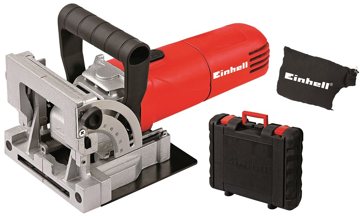 Einhell TC-BJ 900 Complete Biscuit Jointer with Dust Bag in BMC - Red 4350620