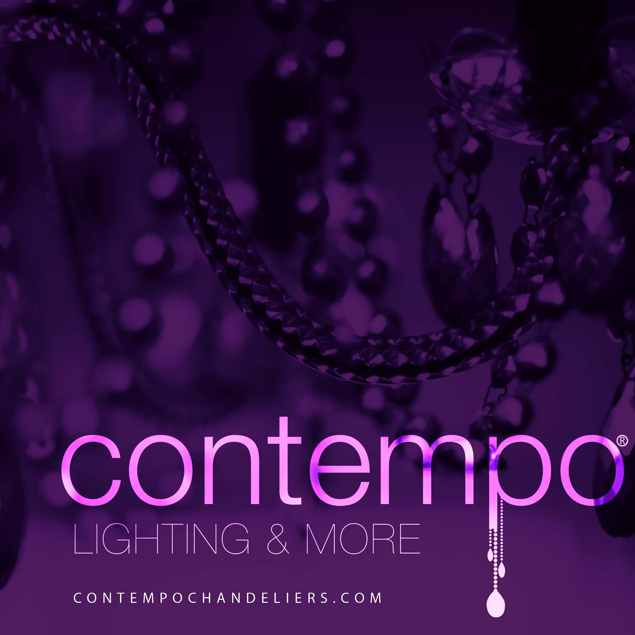 Contempo Collection - Contemporary Chandelier - Giant