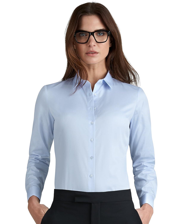 T.M.Lewin Mens Slim Fit White Twill Double Cuff Shirt
