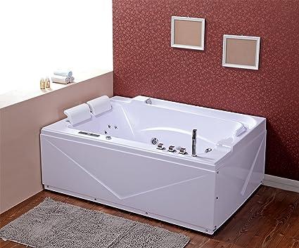 Whirlpool baño – Sevilla 680 calentador/1700 x 1200 x 610 mm/ozono desinfección