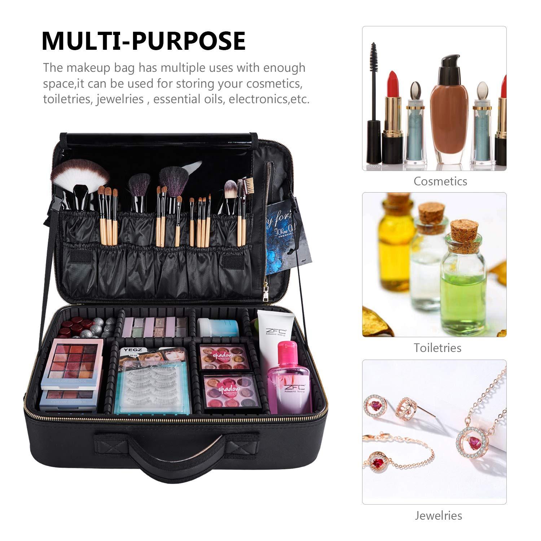 Amazon.com: Goldwheat – Bolsas de maquillaje para cosméticos ...