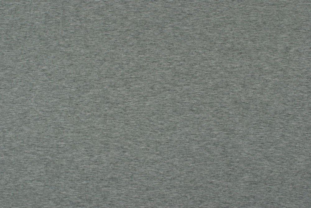 Jersey bi-Stretch di Cotone Grigio Chin/é LAFAB Tessuto al Metro