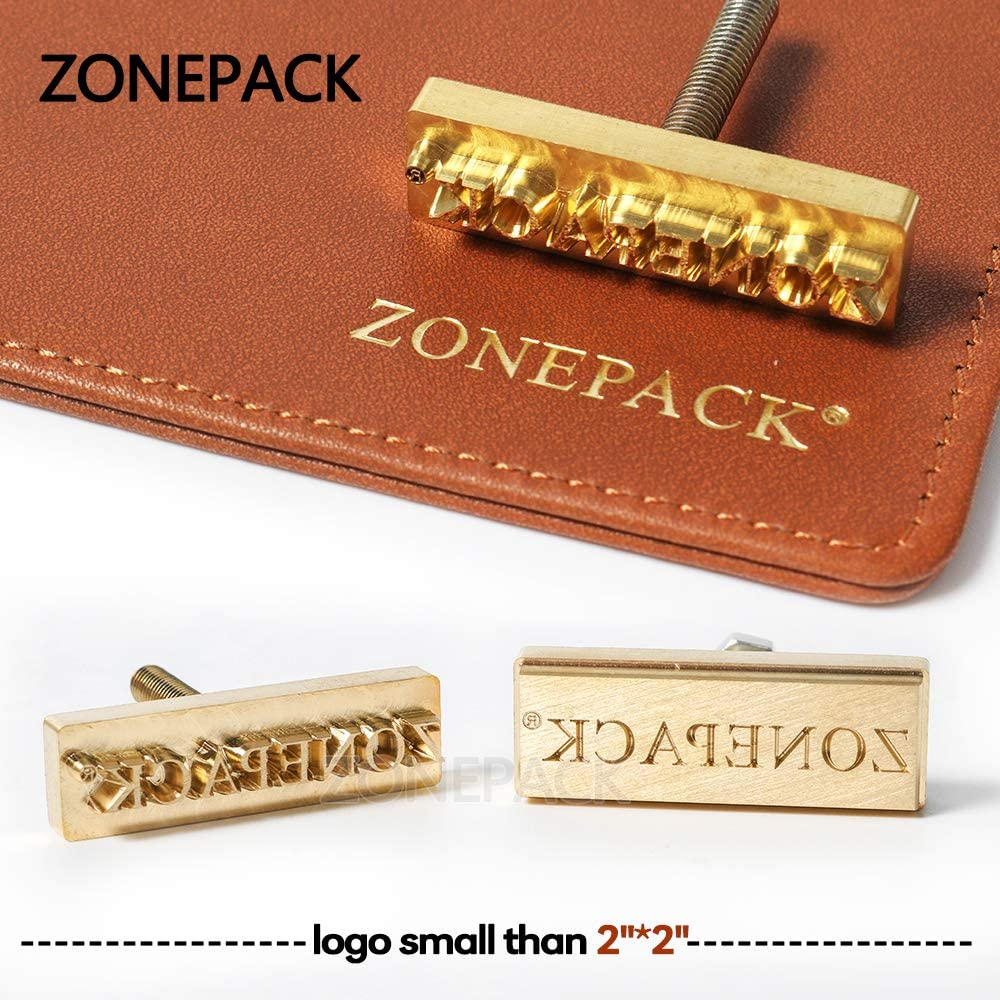 Custom Made Design Your Logo Branding Iron Wood Leather Stamps Handle Separate