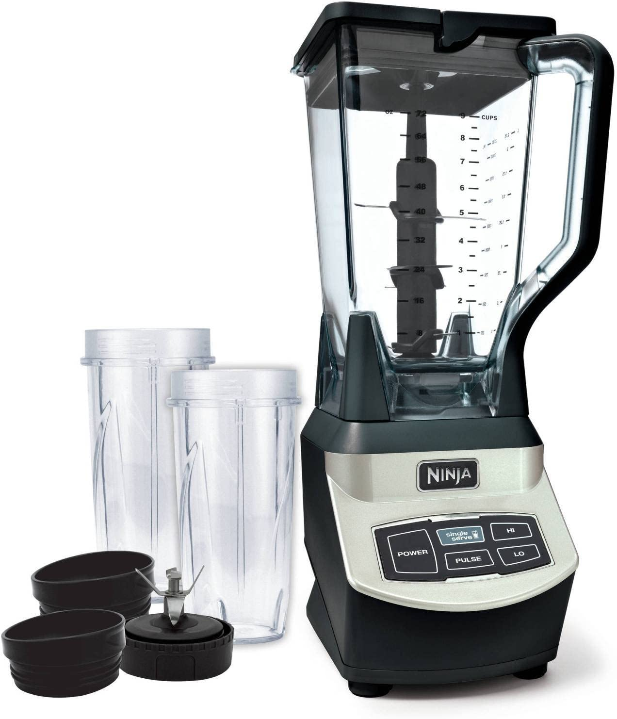 Ninja BL660WM Blender Silver (Renewed)