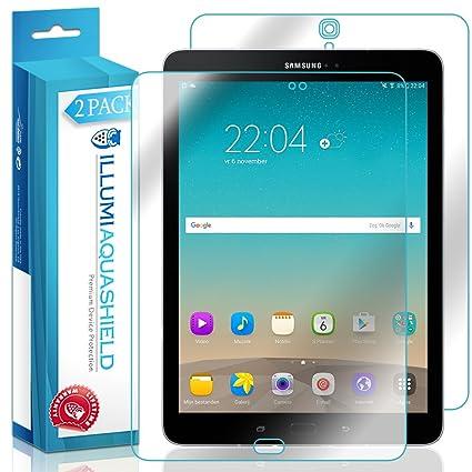 promo code 928b5 b9b74 Galaxy Tab S3 9.7 Screen Protector + Back Cover [2-Pack], ILLUMI AquaShield  Full Coverage Back and Front Screen Protector for Galaxy Tab S3 9.7 HD ...