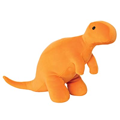 "Manhattan Toy Growly Velveteen T-Rex Dinosaur Stuffed Animal, 11"": Toys & Games"