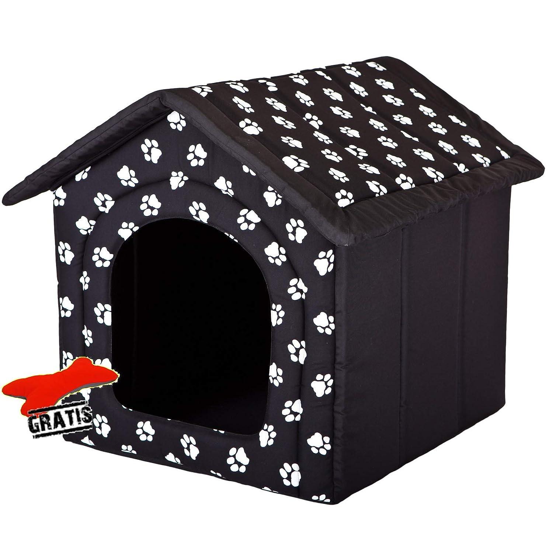 R2 (44 x 38 cm) HOBBYDOG BUDCWL2 R1R6 Dog House + Soft Toy