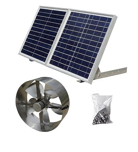 ECO-WORTHY 25W energía Solar Attic accesspanelsuk advpro/Panel Solar (30 W politainer