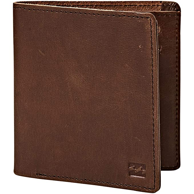 Billabong Mens Gaviotas Leather Wallet: Amazon.es: Ropa y ...
