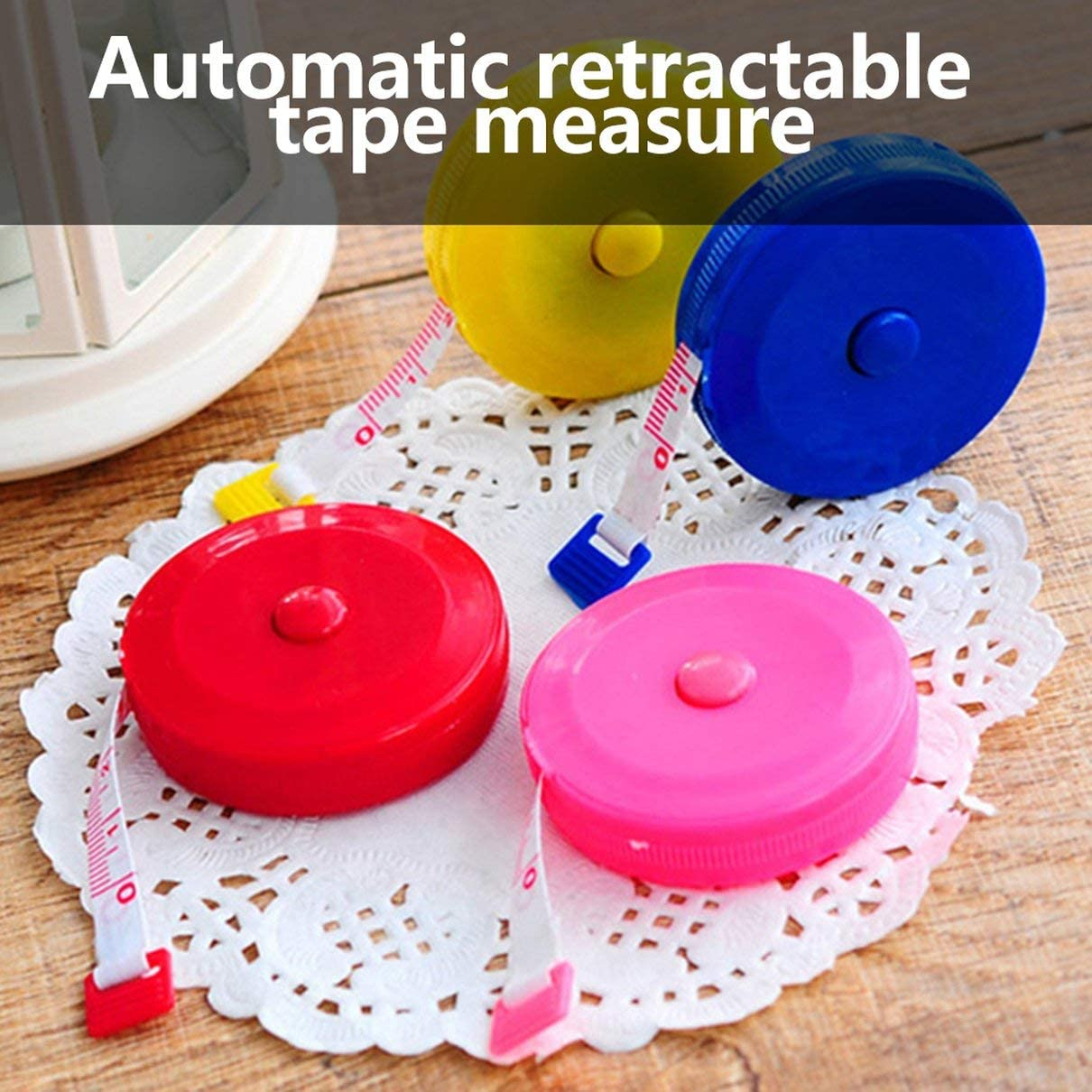 60-Inch 1.5 Meter Soft and Retractable Tape Measure Medical Body Measurement Tailor Sewing Craft Cloth Dieting Measuring Tape