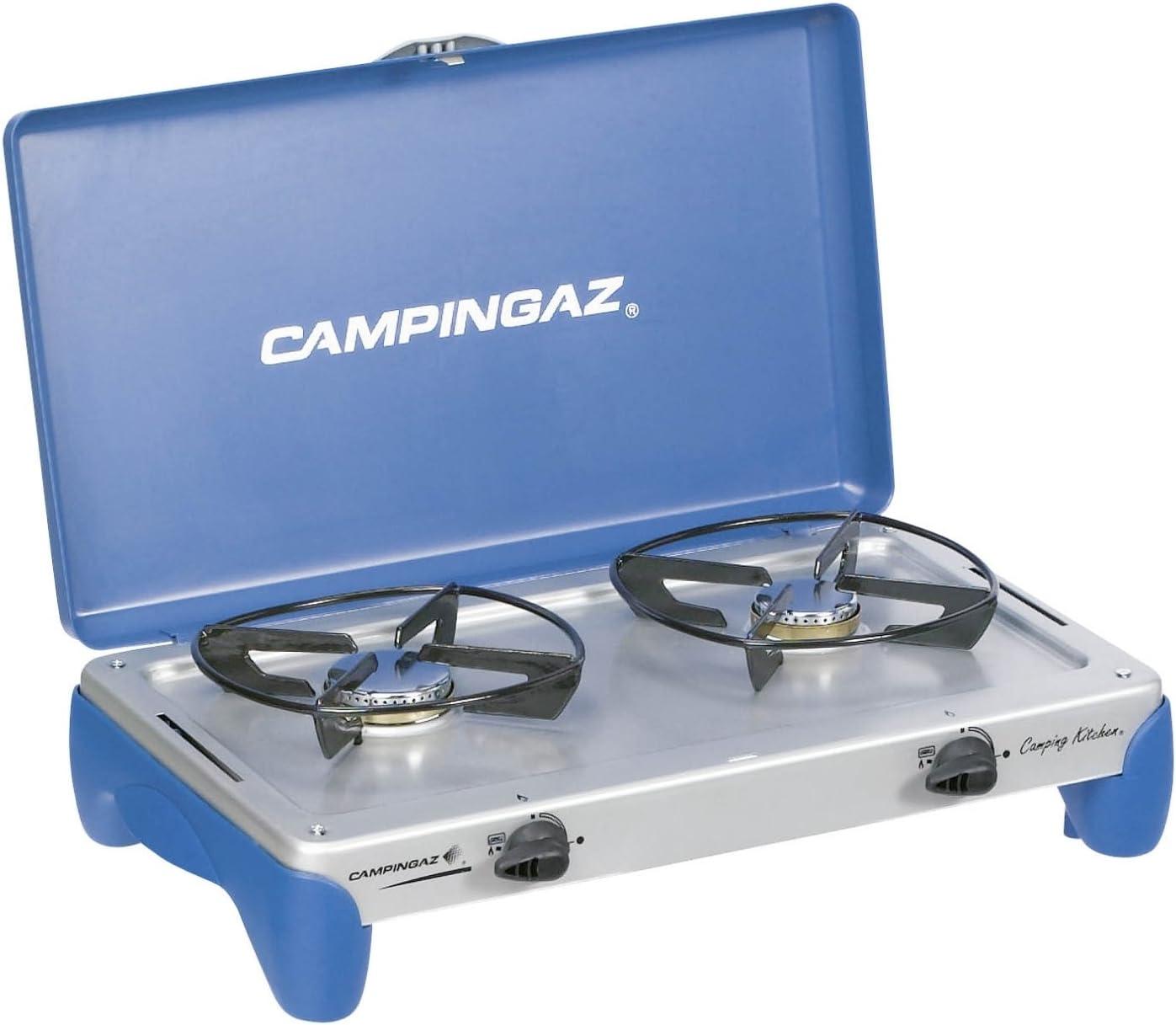 Campingaz Stopgaz - Hornillo para Acampada con 2 Fuegos ...