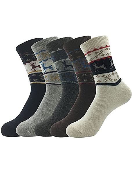 Zando Calcetines para hombre, suaves, cómodos, para deporte, modernos multicolor