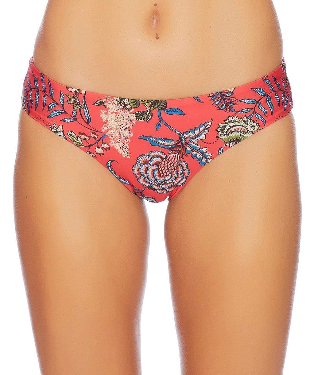 Ella Moss Womens Floral Romance Retro Bikini Bottom
