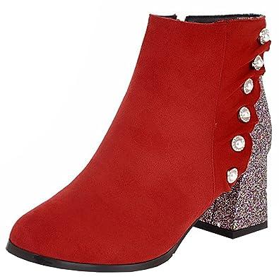 Perlen Schuhe Stiefel Stiefeletten Glitzer