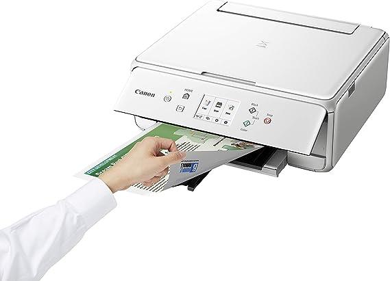 Impresora Multifuncional Canon PIXMA TS6251 Blanca Wifi de ...