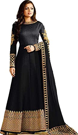c7a6d263c3 Amazon.com: stylishfashion Designer Indian Fashion Anarkali Salwar Kameez  Party Wear Designer Long Suit: Clothing