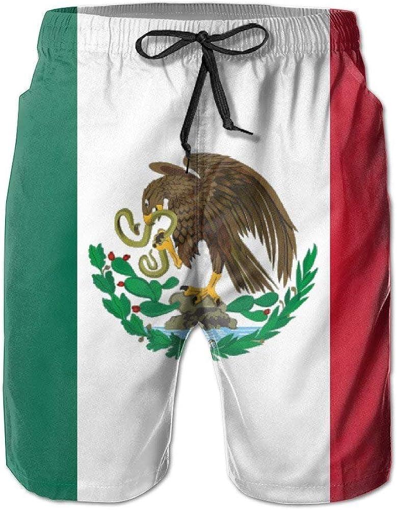 wwoman Pantalones Cortos de Tabla de Surf para Hombre Bandera de México Pantalones Cortos Trajes de baño Pantalones: Amazon.es: Ropa y accesorios