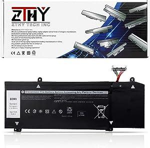 ZTHY 60Wh 1F22N Laptop Battery Replacement for Dell G5 5590 G7 7590 G7 7790 Alienware M15 2018 P79F ALW15M-D1735R M17 P37E P37E001 2019 Series 0HYWXJ HYWXJ 0JJPFK JJPFK 15.2V 4Cell