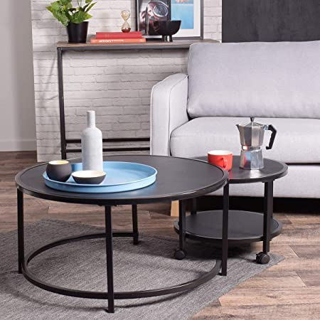 Yata Home Incroyable Nidification Table Basse Et Ronde Mobilier