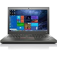 Lenovo ThinkPad X250 (Refurbished) Laptop Intel Core i5-5200U, 4GB 500GB Windows10 Pro, Office 2016, Black 12.5inch…