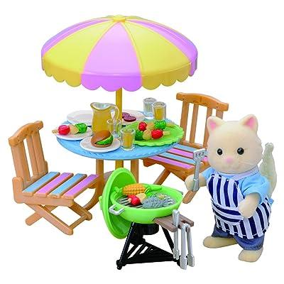 Sylvanian Families 4869 Garden Barbecue Set: Toys & Games
