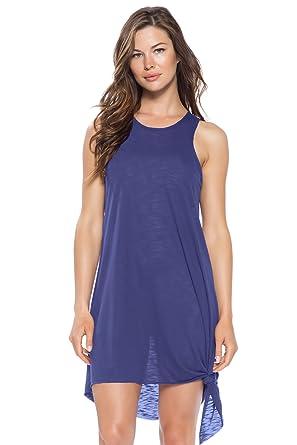 1ea79b225d Breezy Basics Swim Cover-Up at Amazon Women's Clothing store:
