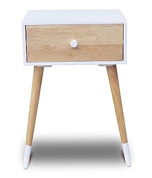 Kommode Skandinavisches Design sørensen design beistelltisch nachttisch weiß kommode anrichte