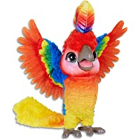 furReal - Rock A Too The Show Bird - Interactive Plush Pet Cockatoo - Toys for kids, boys, girls - Ages 4+