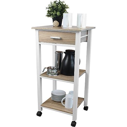 Küchenrollwagen, Küchenmöbel, Beistelltisch, Küche, Ablage