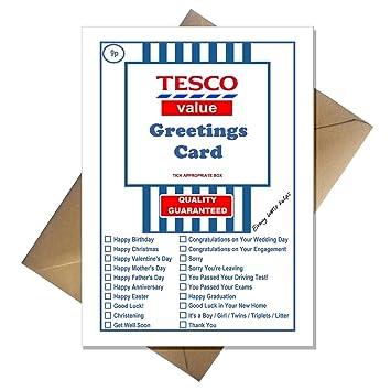 Tesco value funny joke greetings card for literally any occasion tesco value funny joke greetings card for literally any occasion negle Images