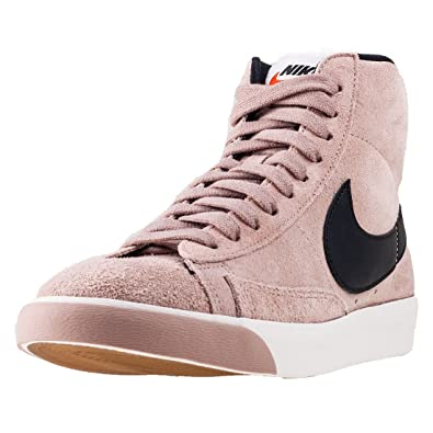 buy popular 67c0e fbc74 Nike Blazer Mid Vintage Suede, Damen High-Top, Pink - Rosa,Schwarz