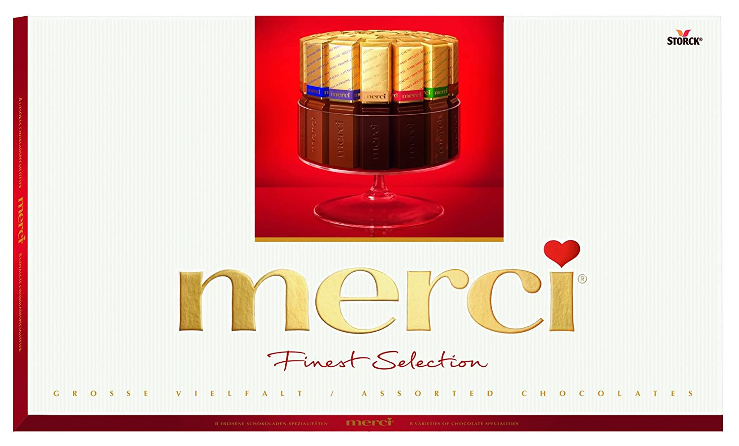 Storck Merci Finest Selection Chocolates, 400g: Amazon.in: Grocery ...