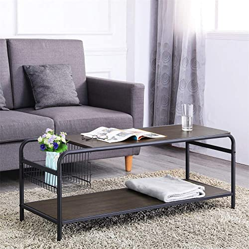 FIVEGIVEN Industrial Coffee Table