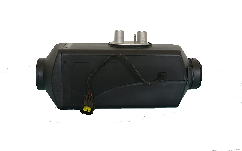 Drivworld Calefactor de estacionamiento, 4kw 12V/24V; calefactor diésel de aire para estacionamiento; para automóviles, camiones, botes, autocaravanas y ...