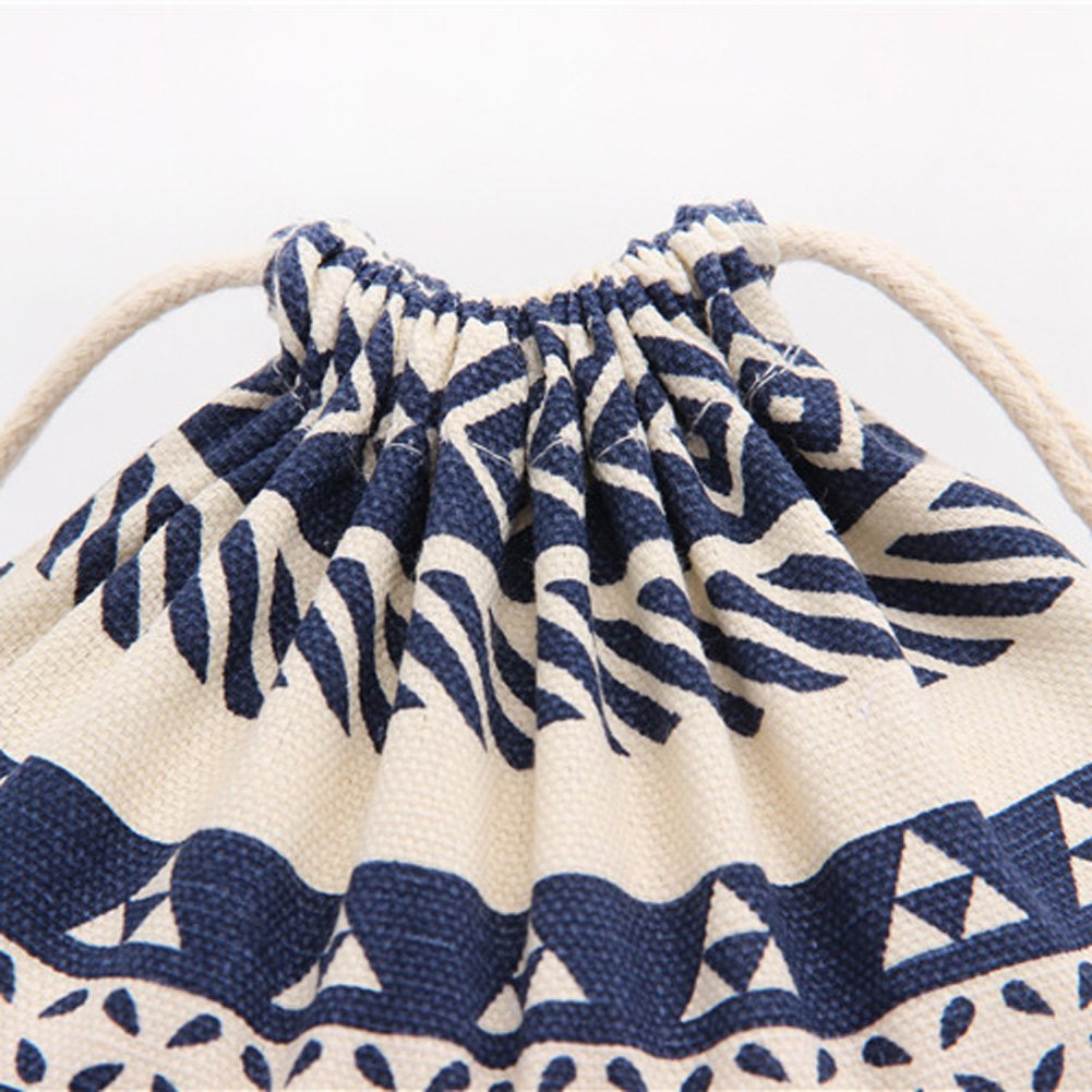 KARRESLY Set of 3 Cotton Gift Bags Christmas Drawstring Travel Storage Pouch Multi-Functional Bag Travel cah06701