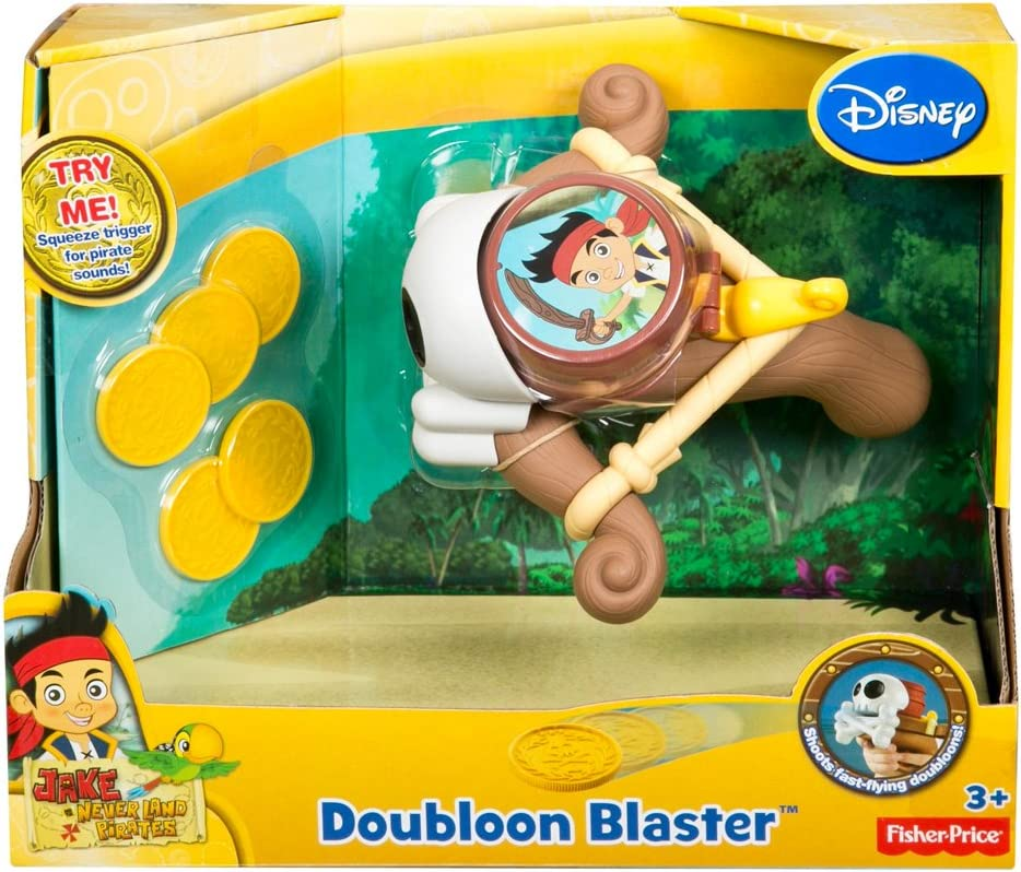 Water Blaster Kids Water Gun Disney Jake And The Never Land Pirates Ages 3