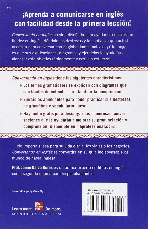 Conversando En Ingles Third Edition Jaime Garza Bores Amazon Com