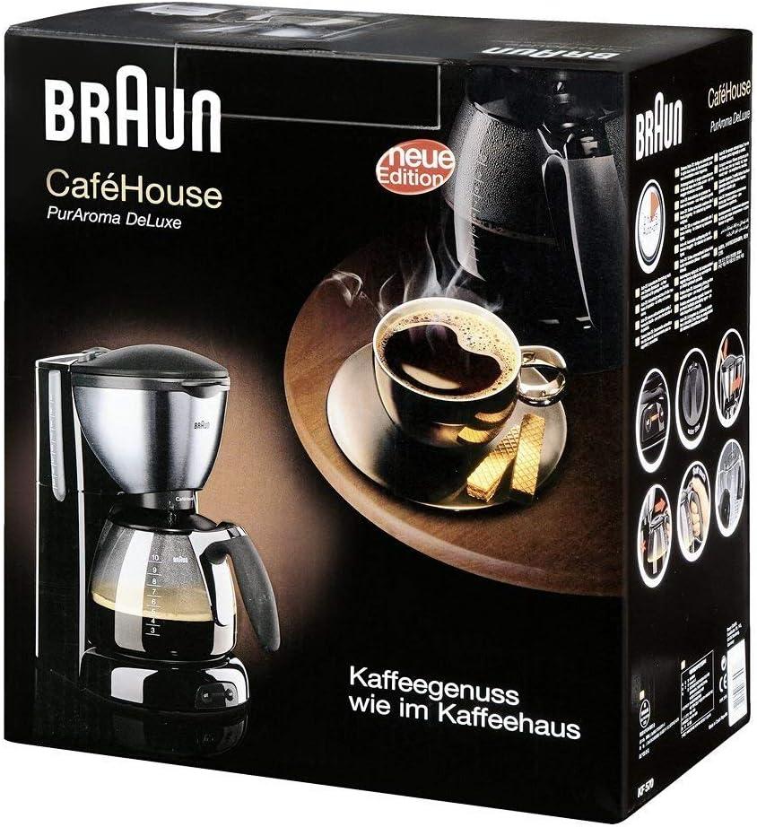 Braun KF 570/1 Cafetera de goteo, semi-automática, independiente ...