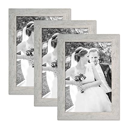 Amazon.com - Set of 3 Picture Frames with Dimensions of 8 x 10 Inch ...