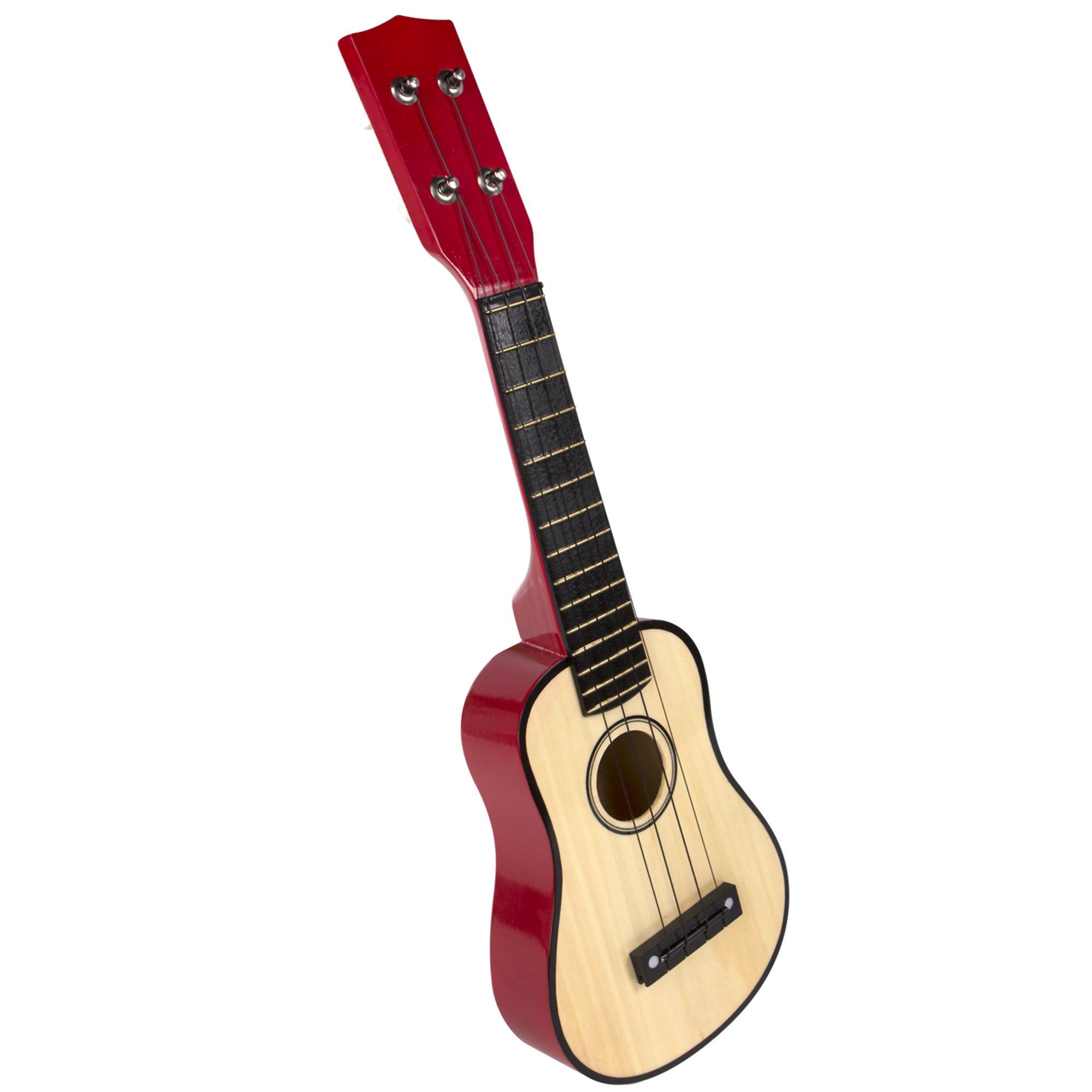 ColorBaby - Guitarra de madera, 4 cuerdas (42142) product image