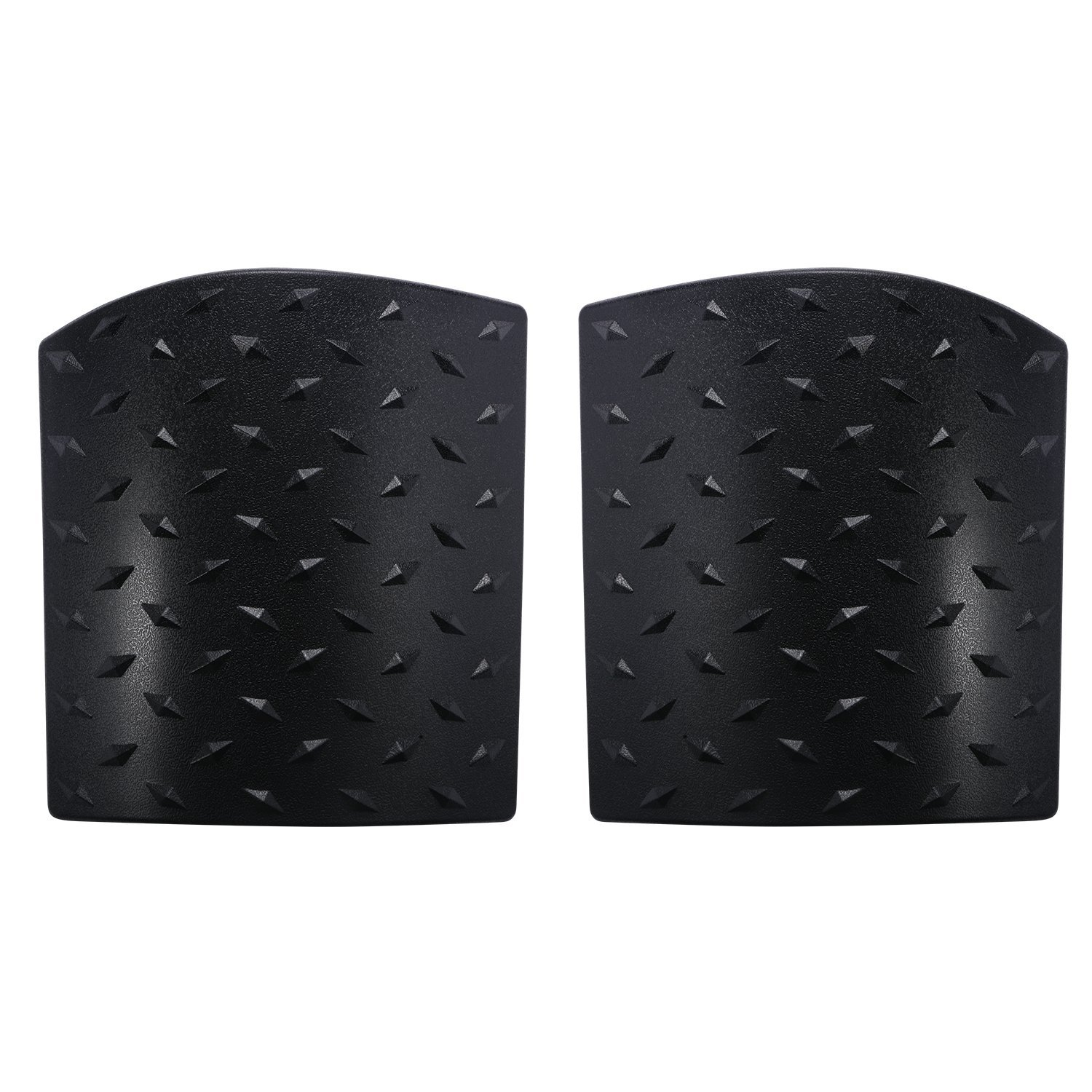 Black Cowl Body Armor Side Guards for 2007-2018 Jeep Wrangler JK /& Unlimited Pair
