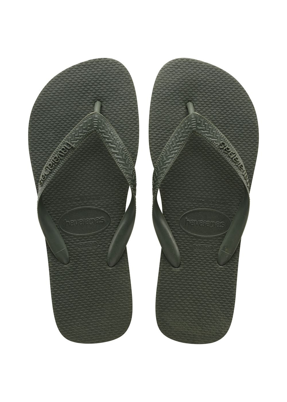 851baa3c2a00c Havaianas Top Thongs (Green Olive