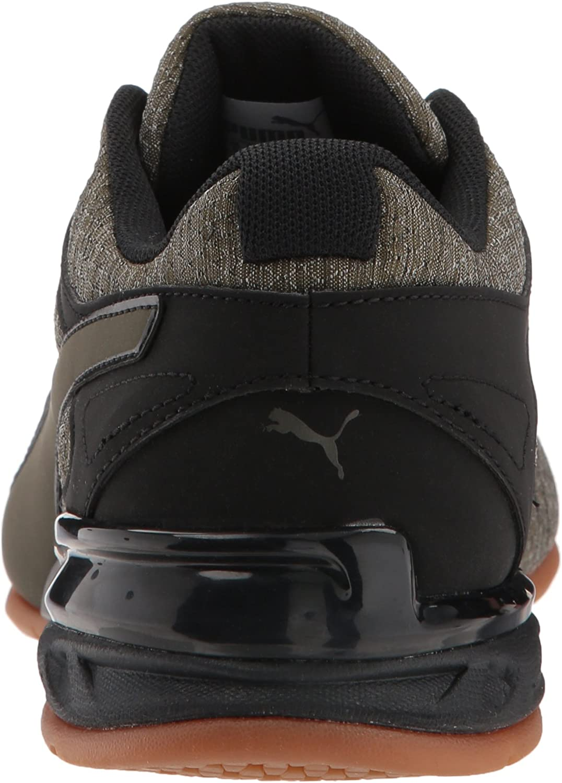 PUMA unisex-kids Tazon 6 Heather Rip Kids Sneaker