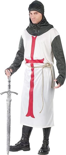 Amazon.com: Funworld disfraz de caballero Templario de ...
