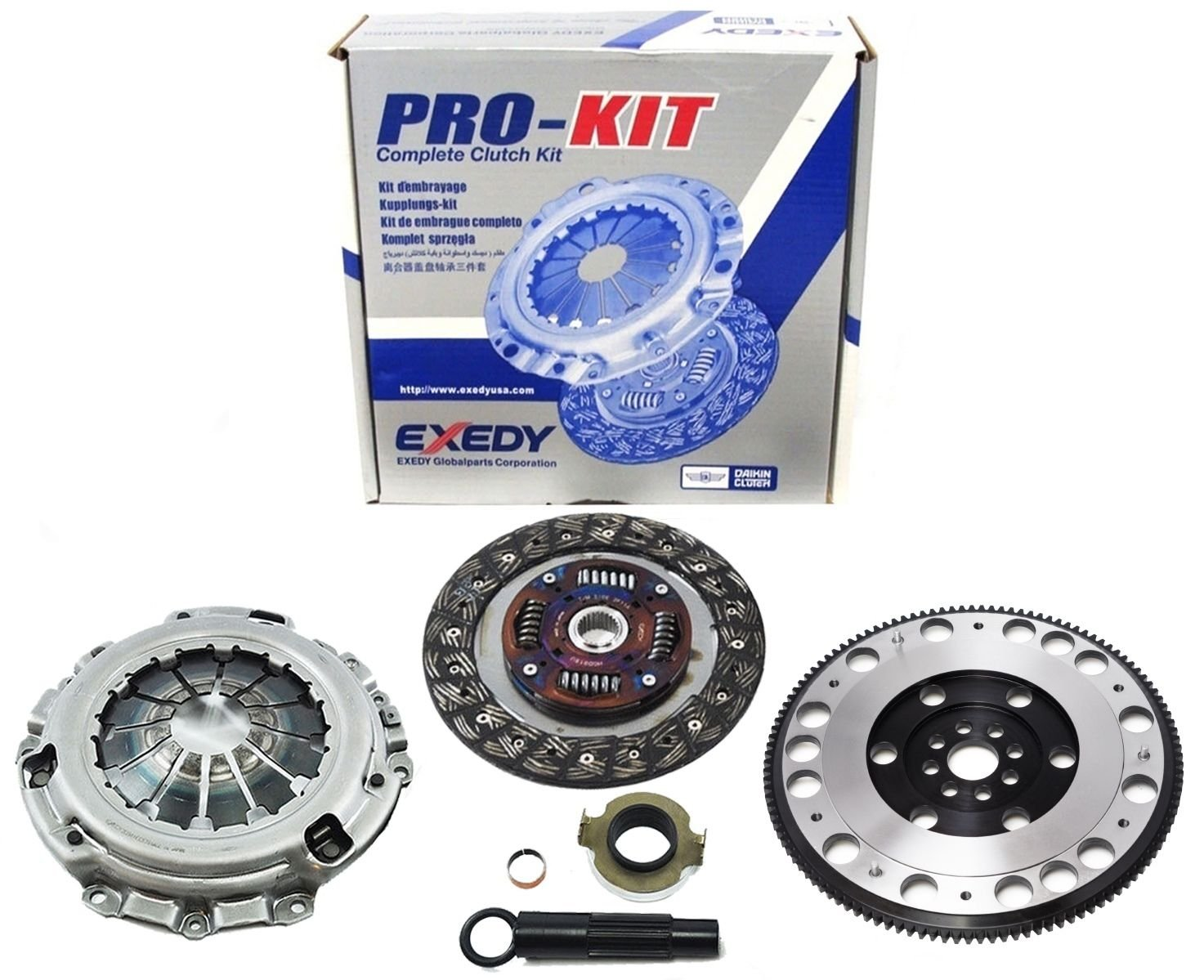 Amazon.com: EXEDY CLUTCH PRO-KIT+RACING CHROMOLY FLYWHEEL ACURA RSX TYPE-S CIVIC SI K20: Automotive