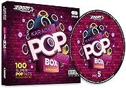 Zoom Karaoke Pop Box 2019: A Year In Karaoke - Party Pack - 5 CD+G Box Set - 100 Songs