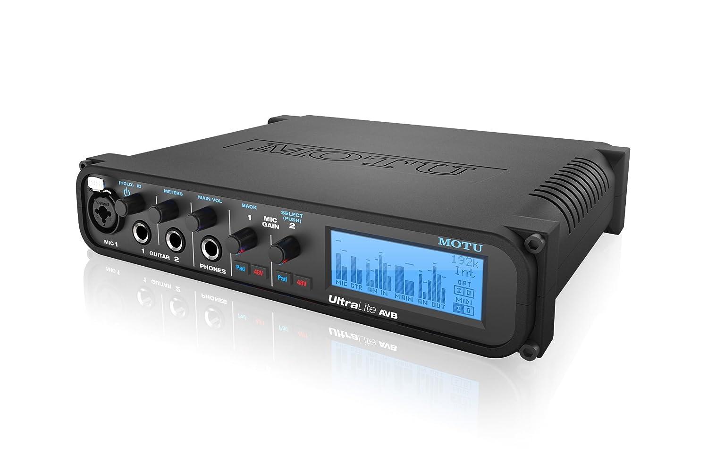 MOTU UltraLite AVB 18イン18アウト USB2 / AVB オーディオ / MIDIインターフェイス B00TZQ1XY2
