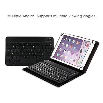 8-8 9 Inch Bluetooth Detachable Keyboard Case,Businda