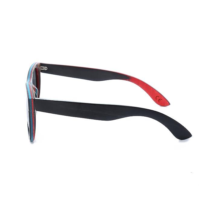 Amazon.com: Gafas de sol de madera polarizadas para hombre ...