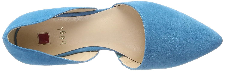 HÖGL Geschlossene Damen 5-10 0032 3300 Geschlossene HÖGL Ballerinas Blau (Azure) c97631